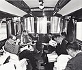 Personnel of Delegation of World Bank with Officials of Taiwan government in TRA 20FOB2001 Railcar.jpg