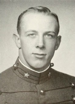 Pete Dawkins, 1959, West Point Cadet