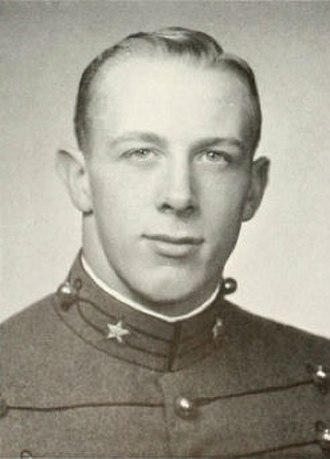 Pete Dawkins - Dawkins as a senior West Point Cadet, 1959