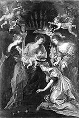 Vermählung der hl. Katharina (Kopie nach)