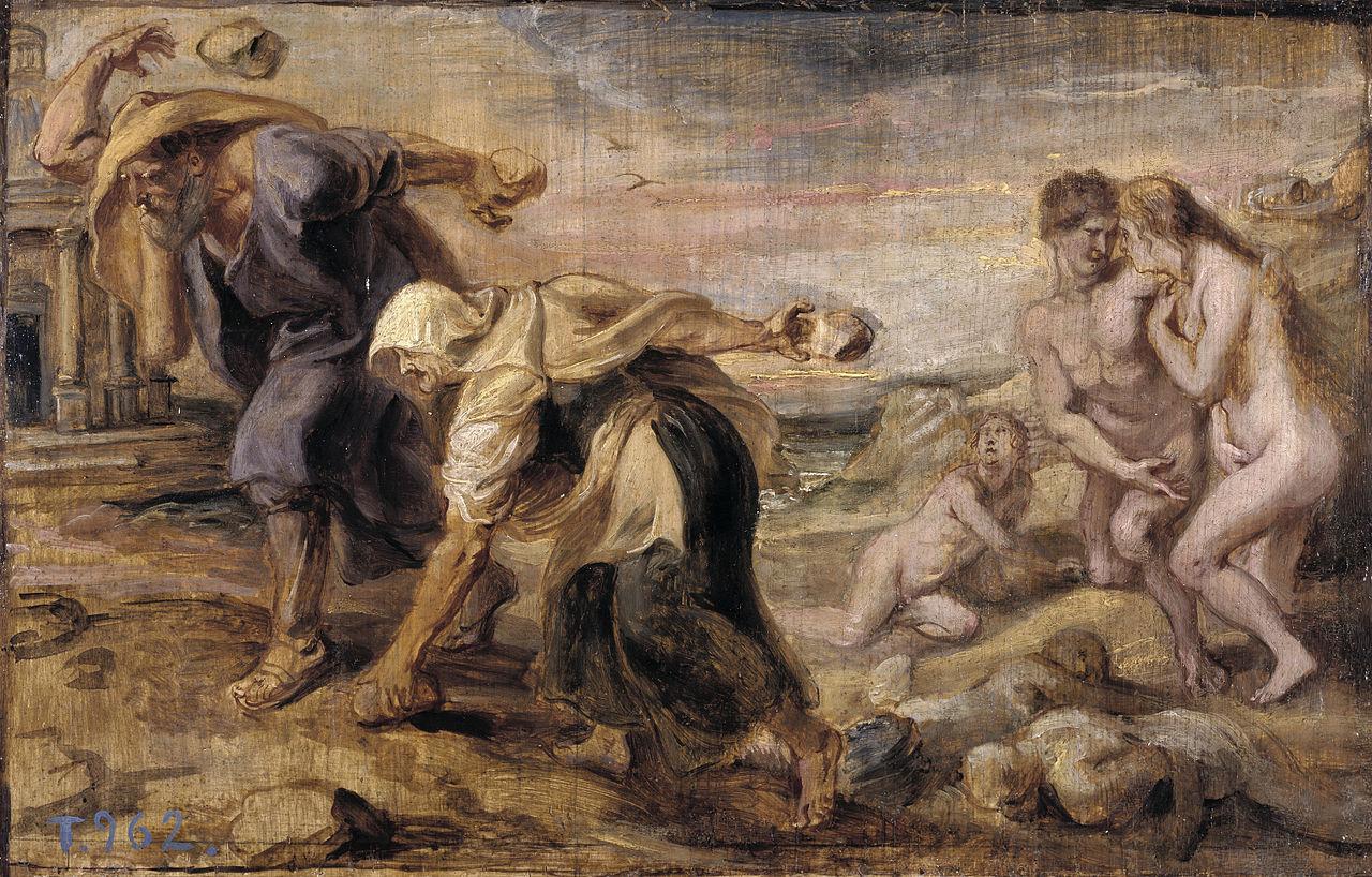 Peter Paul Rubens - Deucalion and Pyrrha, 1636.jpg