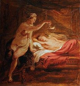 Peter Paul Rubens - Psyché et l'Amour endormi