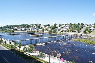 Alma, Quebec - Image: Petite décharge 2012