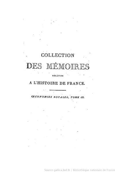 File:Petitot - Collection complète des mémoires relatifs à l'histoire de France, 2e série, tome 9.djvu