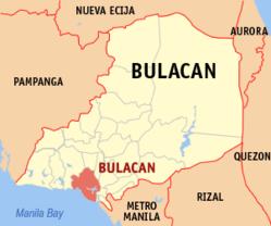 Bulakan Wikipedia - Bulacan map philippines