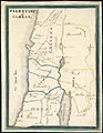 Phebe Ellen Nichols. Map of Palestine or Canaan. 1853.jpg