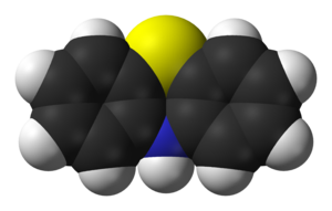Phenothiazine - Image: Phenothiazine Mc Dowell 3D vd W