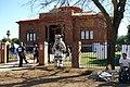 Phoenix, AZ, Carnegie Library, Arizona Centenary Native Village, 2012 - panoramio.jpg