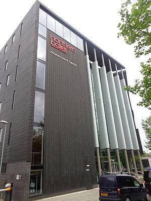 Phoenix Dance Theatre - Headquarters of the Phoenix Dance Theatre, Quarry Hill, Leeds.