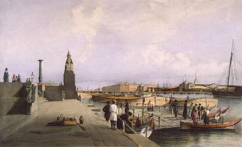 Pier at the Academy of Arts in 1841.jpg