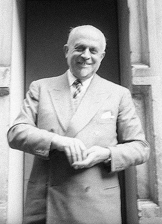 Piero Portaluppi - Piero Portaluppi in 1955