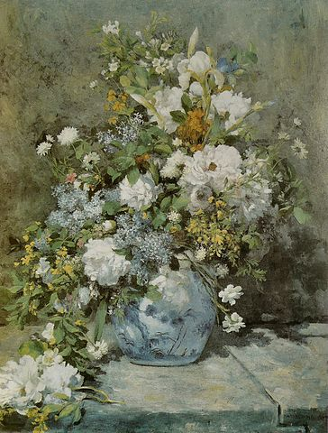 «Весенний букет» (1866). Музей Гарвардского университета
