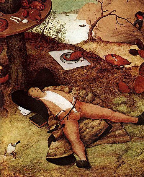 File:Pieter Bruegel the Elder - The Land of Cockaigne (detail) - WGA3508.jpg