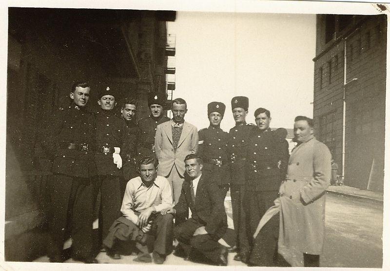 בוגרי בית ספר לשוטרים משטרת המנדט