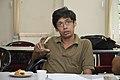Pinaki Biswas Talks - West Bengal Wikimedians Strategy Meetup - Kolkata 2017-08-06 1661.JPG