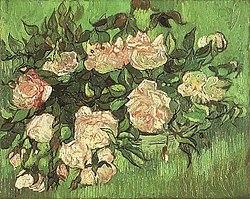Винсент ван Гог: Розовые розы
