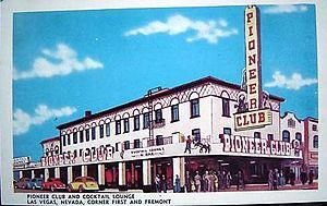 Pioneer Club Las Vegas - The Pioneer Club Late 40's, before Vegas Vic