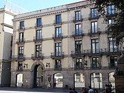 Plaça de la Mercè - Rectorat de la Universitat Pompeu Fabra.JPG