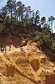 Plan d'une carrière d'ocre, Roussillon, Vaucluse, France - panoramio.jpg