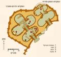 Plan des temples de Ggantija-HE.png
