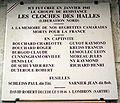 Plaque Les Cloches des Halles, 14 rue Sauval, Paris 1.jpg