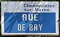 Plaque Rue Bry - Chennevières-sur-Marne (FR94) - 2021-05-07 - 1.jpg