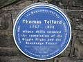 Plaque in honour of Thomas Telford - geograph.org.uk - 744251.jpg