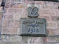 Plaque on Hawarden Masonic Hall - geograph.org.uk - 1479615.jpg