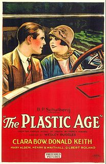 <i>The Plastic Age</i> (film) 1925 film by Wesley Ruggles