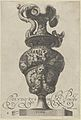 Plate 4- Vase or Ewer with a Frieze containing mermaids and centaurs, and below a lion's head with garlands and ribbons, from Antique Vases ('Vasa a Polydoro Caravagino') MET DP837053.jpg