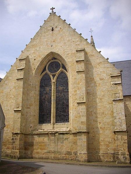 Saint Guigner church of Pluvigner (Morbihan, France)
