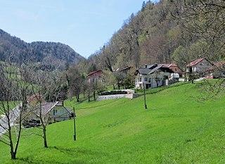 Podlipovica Place in Upper Carniola, Slovenia