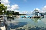 Poertschach Promenadenbad Boote und Rutschenturm 06062013 665.jpg