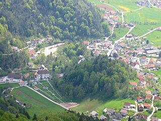 Polhov Gradec Place in Upper Carniola, Slovenia