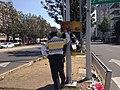 Policía controlando el semáforo, Ciudad de México.jpg