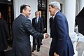 Polish Foreign Minister Sikorski Welcomes Secretary Kerry to Warsaw (10688250034).jpg