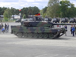 Equipment of the Polish Army - Image: Polish Leopard 2A4