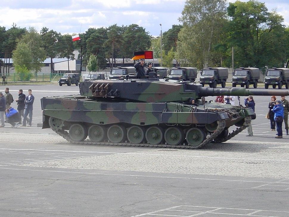 Polish Leopard2A4