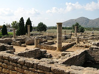Majorca - Ruins of the Roman city of Pollentia