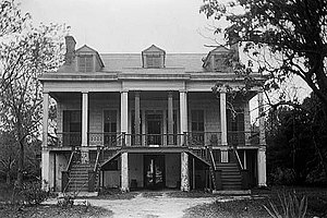 National Register of Historic Places listings in Jackson County, Mississippi - Image: Pollock House (Bellevue)