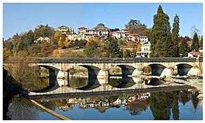 Gourdan-Polignan - The Pont de Gourdan