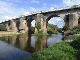 Trofa, Segadães e Lamas do Vouga - The Ponte do Cabeço do Vouga in Trofa, Segadães e Lamas do Vouga.