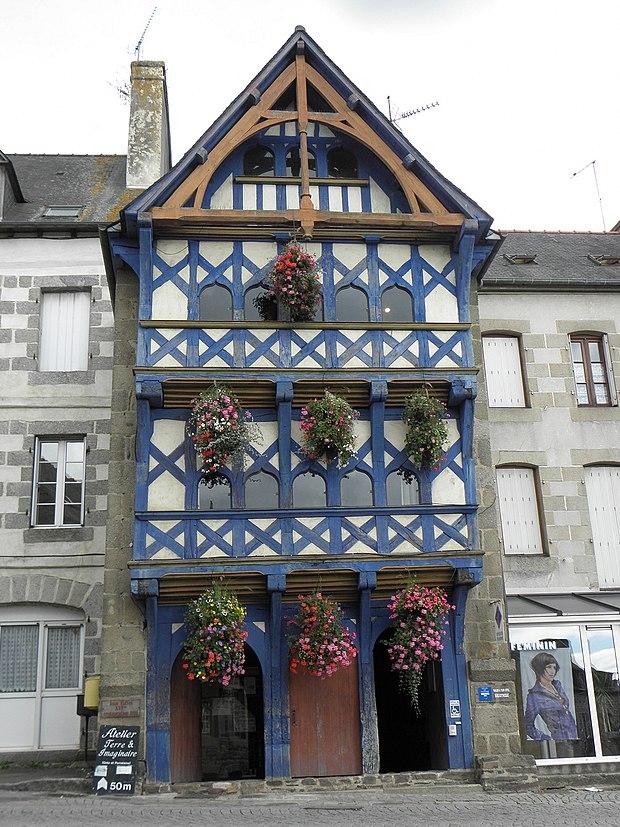 Monument historique à Pontrieux