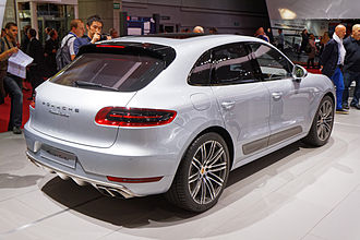 Porsche Macan - Macan Turbo, rear (2014)