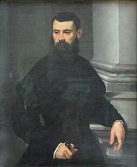 Portrait d'un gentilhomme, la main sur l'épée