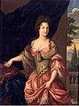 Portrait of Mademoiselle de Montmorency (1678–1718) future Duchess of Vendome (Copy of an original in the Château d'Eu).jpg