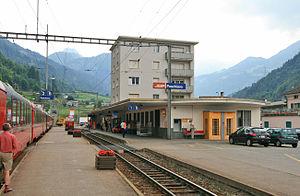 Poschiavo (Rhaetian Railway station) - Poschiavo railway station