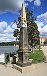 Postmeilensäule.Schloss Moritzburg. Sachsen. IMG 6949WI.jpg