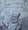 Potemkin mutiny newspaper cartoon japanese militaryman makes jokes on russians fighting each other.jpg