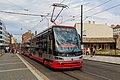 Prague 07-2016 tram at Florenc.jpg